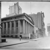 U.S. Sub-treasury [Federal Hall], Wall St., New York ca. 1900