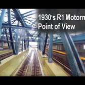 ⁴ᴷ Motorman's Point of View - 1930s R1 from 42nd St/6 Av to Kings Highway