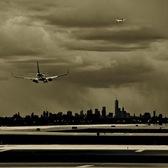 Stormy Takeoff