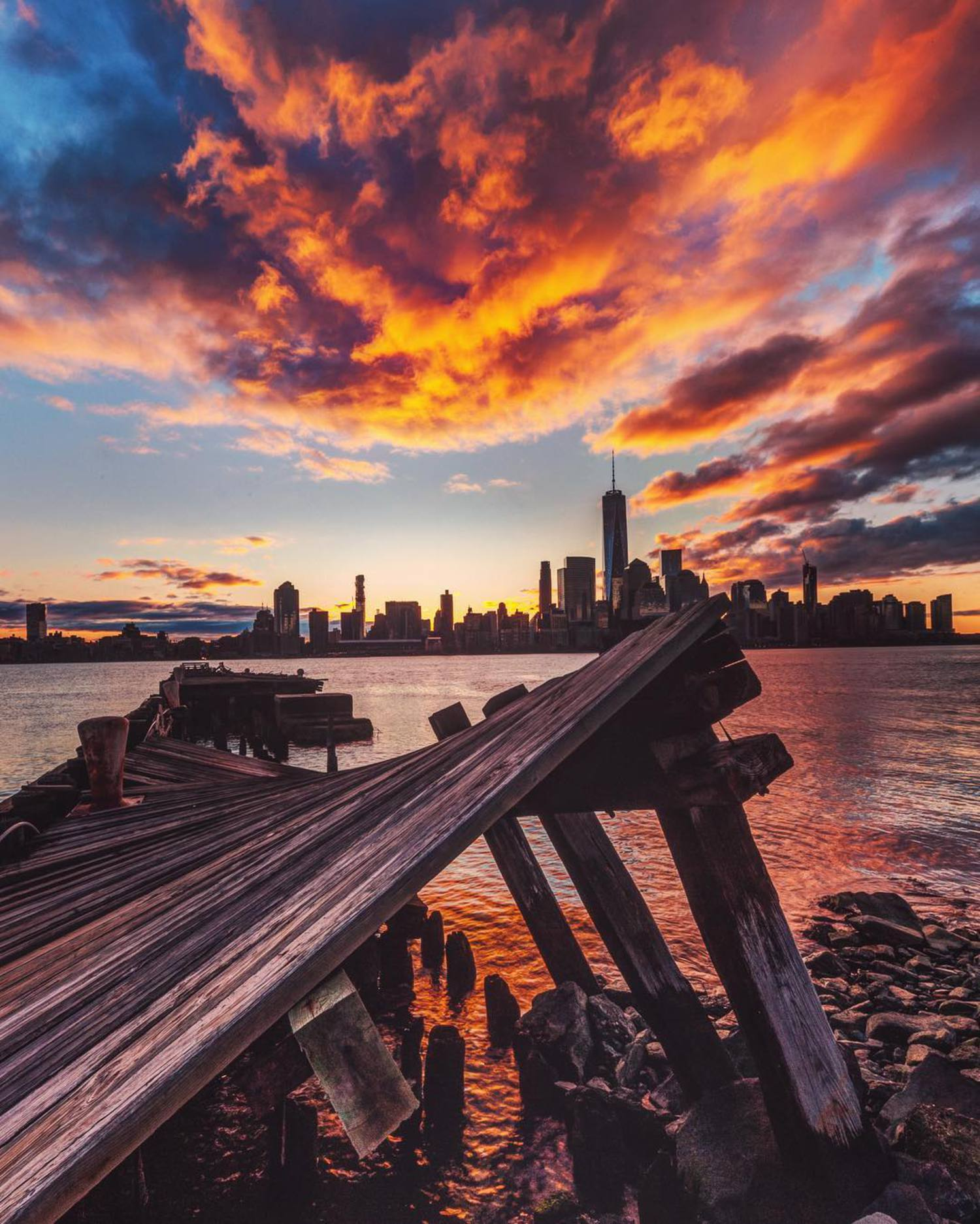 "This is another one from the best sunrise ever in New York with @johnnyyonkers @papakila @chief770 @gmathewsva @grimace_586 @dubsonata ----------------------------------------------------- Brucegetty@icloud.com ----------------------------------------------------- ✨Special notice ✨ My good friend ""Israel @marinophotography and I @gettyphotography  will be doing photography and processing workshops and photo tours all around the Bay Area and the Sacramento valley, 1 on 1 or small group teaching classes, if you are interested please contact Me through my page or drop a comment below, thank you. ----------------------------------------------------- ""Recommendation"" I would like to recommend my good friend Dave's printshop, ""@PHOTOWORKSSF, it's a fine art printing shop located in the heart of San Francisco, Ca . I print all of my work at PHOTOWORKS. For more information please visit: PHOTOWORKSSF.COM when you talk to Dave please tell him I sent you ) ----------------------------------------------------- ""Check out "" @lilian_hoffman_photo 👈🏻 ----------------------------------------------------- 📷 Shot Info📷 Nikon D8 10  Lens: Nikon 14 to 24 Tripod Feisol ct3372  Natural Light  Manual Mode Shutter . . . .  1/10 Aperture: F20 Iso: 100 WB auto RAW ---------------------------------------------------- #earthpix #awesome_earthpix #wonderful_earthpix #wonderful_places #ourplanetdaily #travel #awesomeearth #bestvacations #beautifuldestinations #nakedplanet #fantastic_earth #igworldclub #discoverearth #warrenjc #theglobewanderer #ig_worldclub #earthfocus #travelawesome #nature #landscape_lovers #ig_exquisite #global_hotshotz #earthofficial #wildernessculture #special_shots #jaw_dropping_shots #worldcaptures #neverstopexploring #moodygrams"