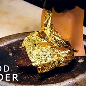 What A $400 Gold-Covered Steak Tastes Like