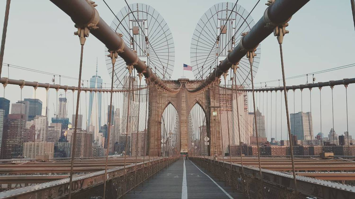 How's this shot of the #BrooklynBridge in #NewYork?