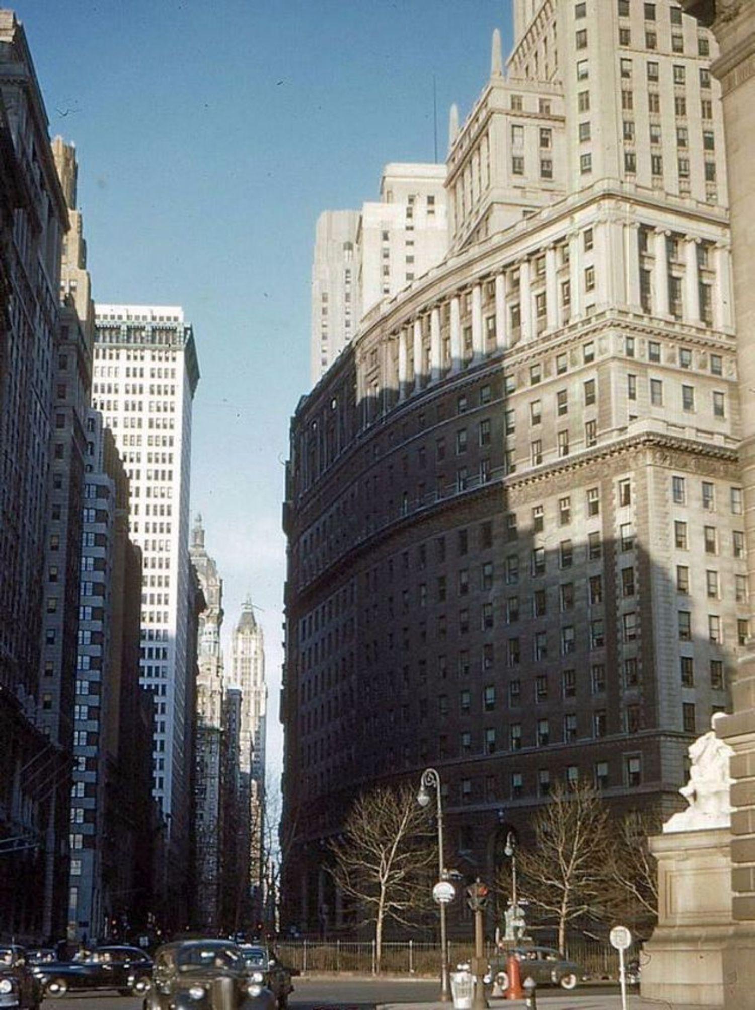 Bowling Green, Manhattan, 1952