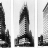 Flatiron Building Construction, New York, 1902