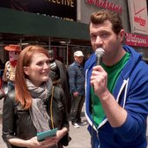 Billy On the Street: The Julianne Moore Acting Attack!