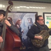 AMAZING Whistling Solos! Buskers perform On A Slow Boat to China in NYC Subway