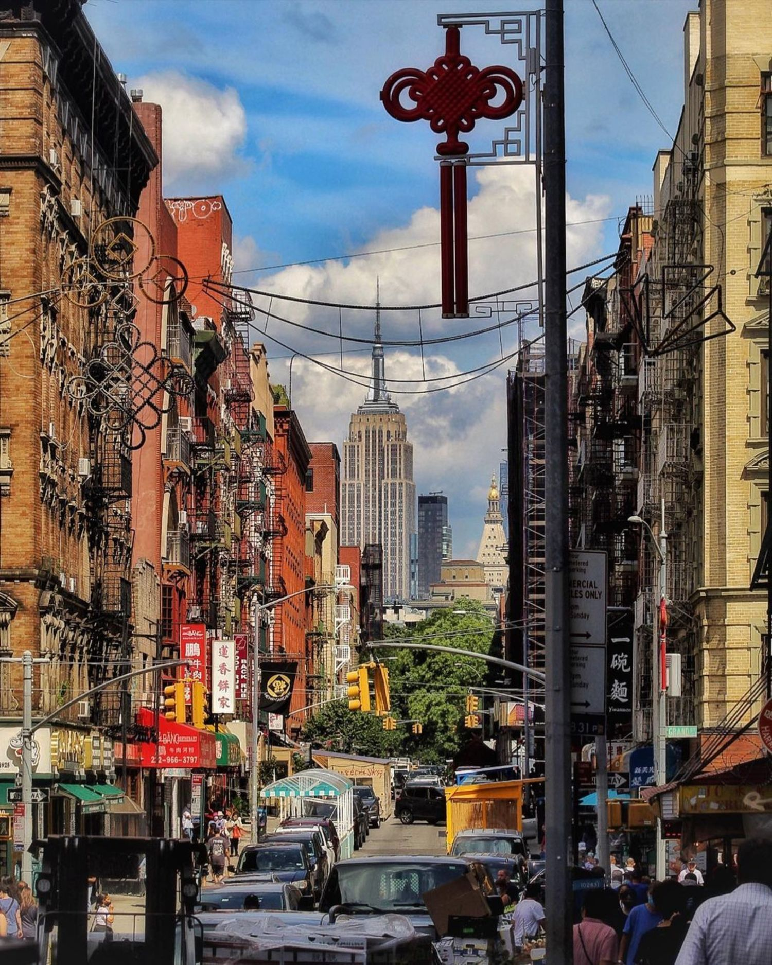Mott Street, Chinatown, Manhattan