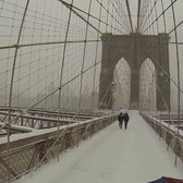 Umbrella Cam's View of Wintry New York | The New York Times