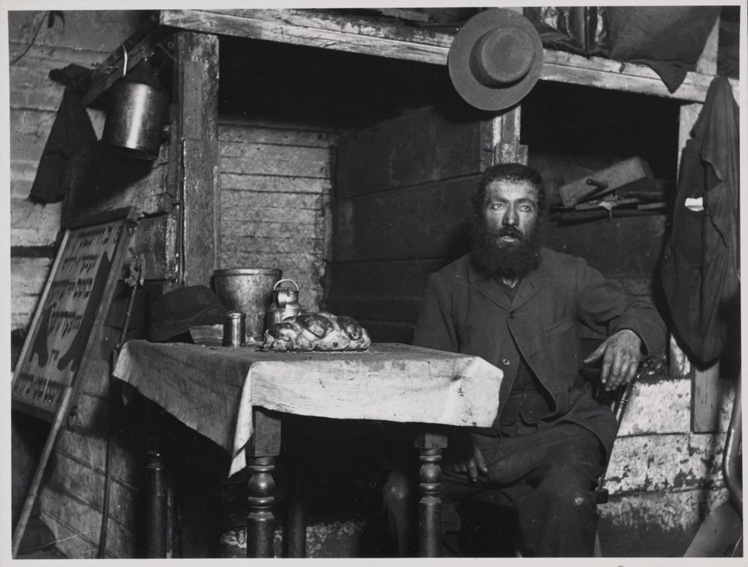 """Ready for Sabbath Eve in a Coal Celler"" A Cobbler in Ludlow Street"