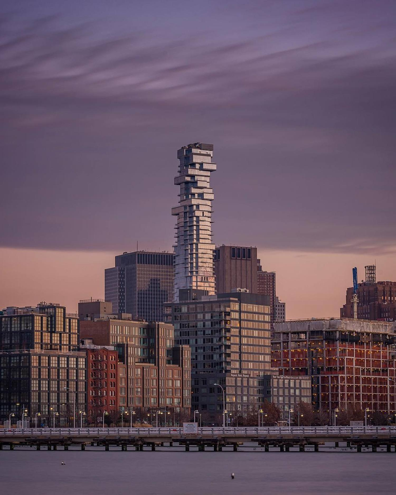 56 Leonard Street rising high as the tallest in TriBeCa ✰