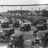 Traffic on Queens Blvd. in 1933