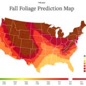 2017 Fall Foliage Map