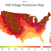 2017 Fall Foliage Map