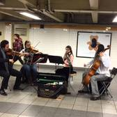 Classical music (and impromptu ballet) in the subway