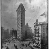 Flat-Iron [i.e. Flatiron] Building, Fifth Avenue and Broadway, New York, 1902