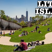 Walking Little Island NYC (ASMR no talk) The $260 Million Floating Oasis Park in the Hudson River