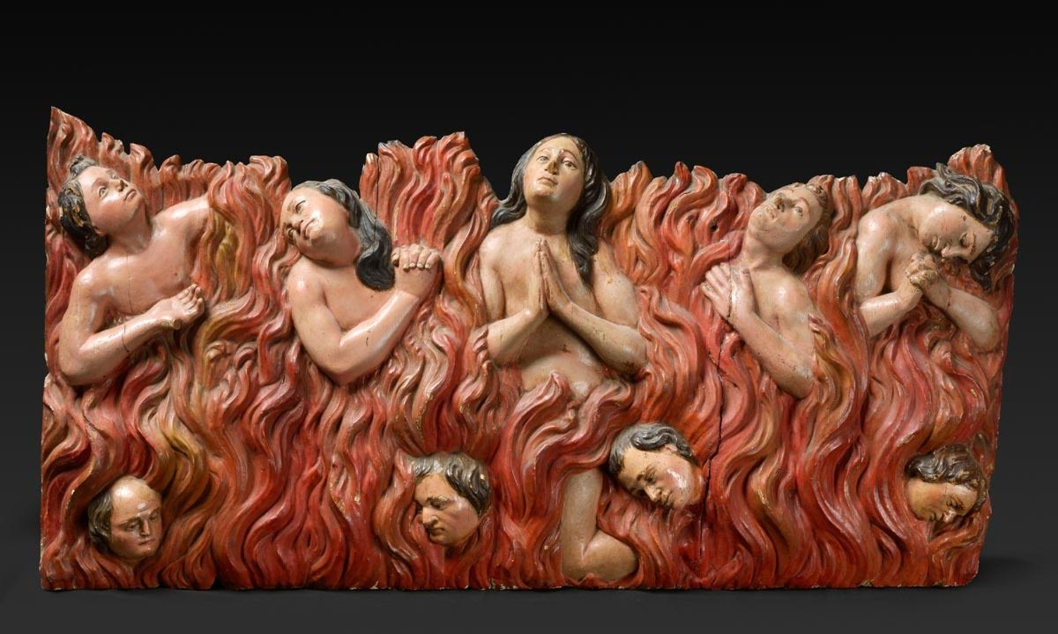 Anima Sola Depiction of souls in purgatory, mid 19th Century Courtesy David Wheatcroft