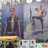Half-Naked Justin Bieber Returns to Houston Street for Calvin Klein