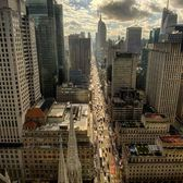 Looking down 5th Avenue from St. Patrick's Cathedral, Manhattan