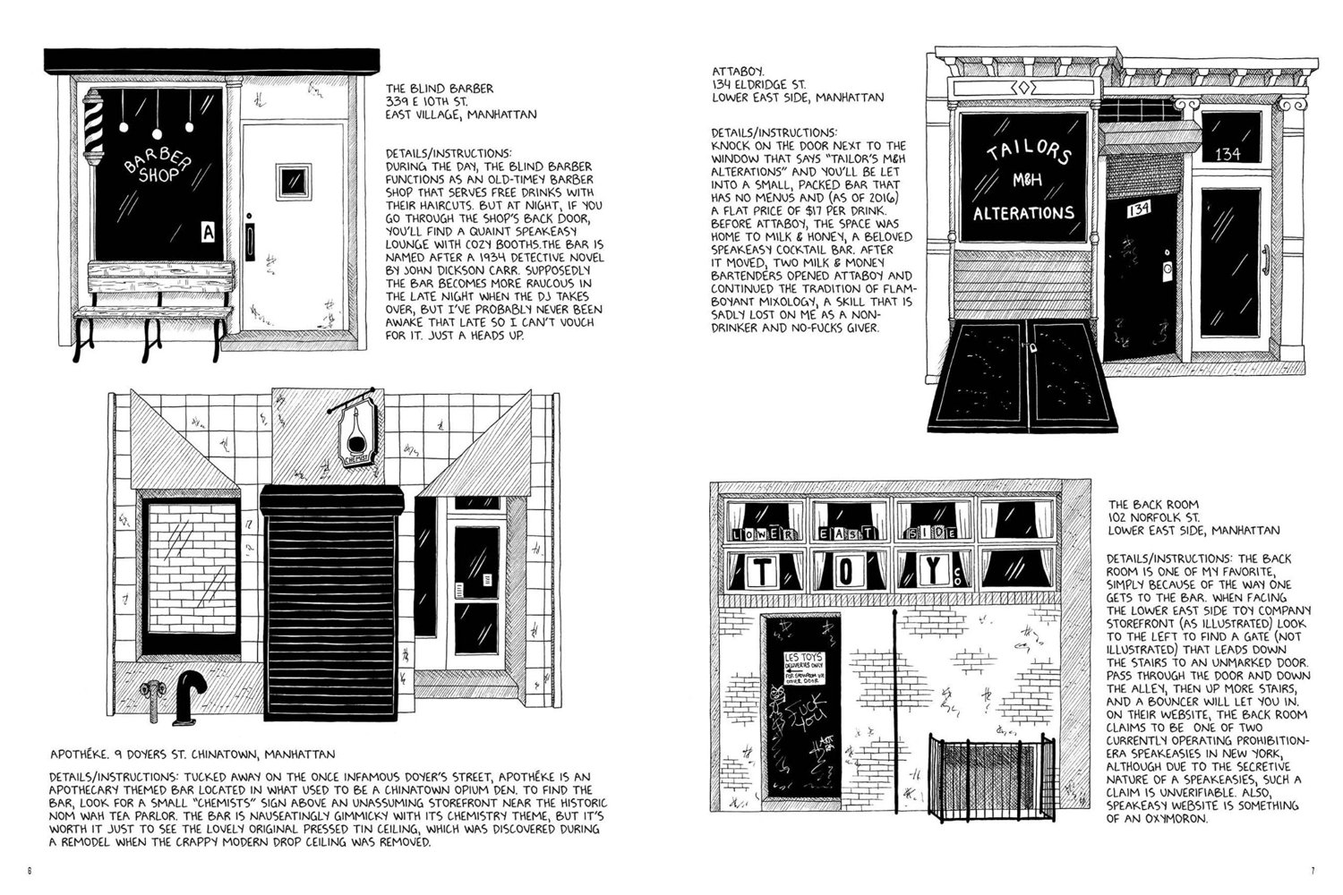 """""""Tenements, Towers & Trash: An Unconventional Illustrated History of New York City"""", Julia Wertz, 2017"""