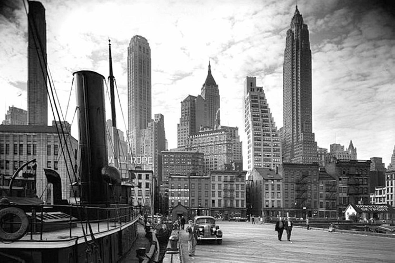 Pier 11, Manhattan, New York, 1938