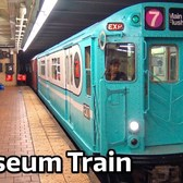 "⁴ᴷ ""Train of Many Colors"" Museum Train Action"
