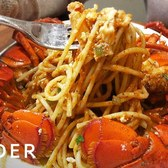 Greek Seafood Dish Tops Pasta With Whole Lobster