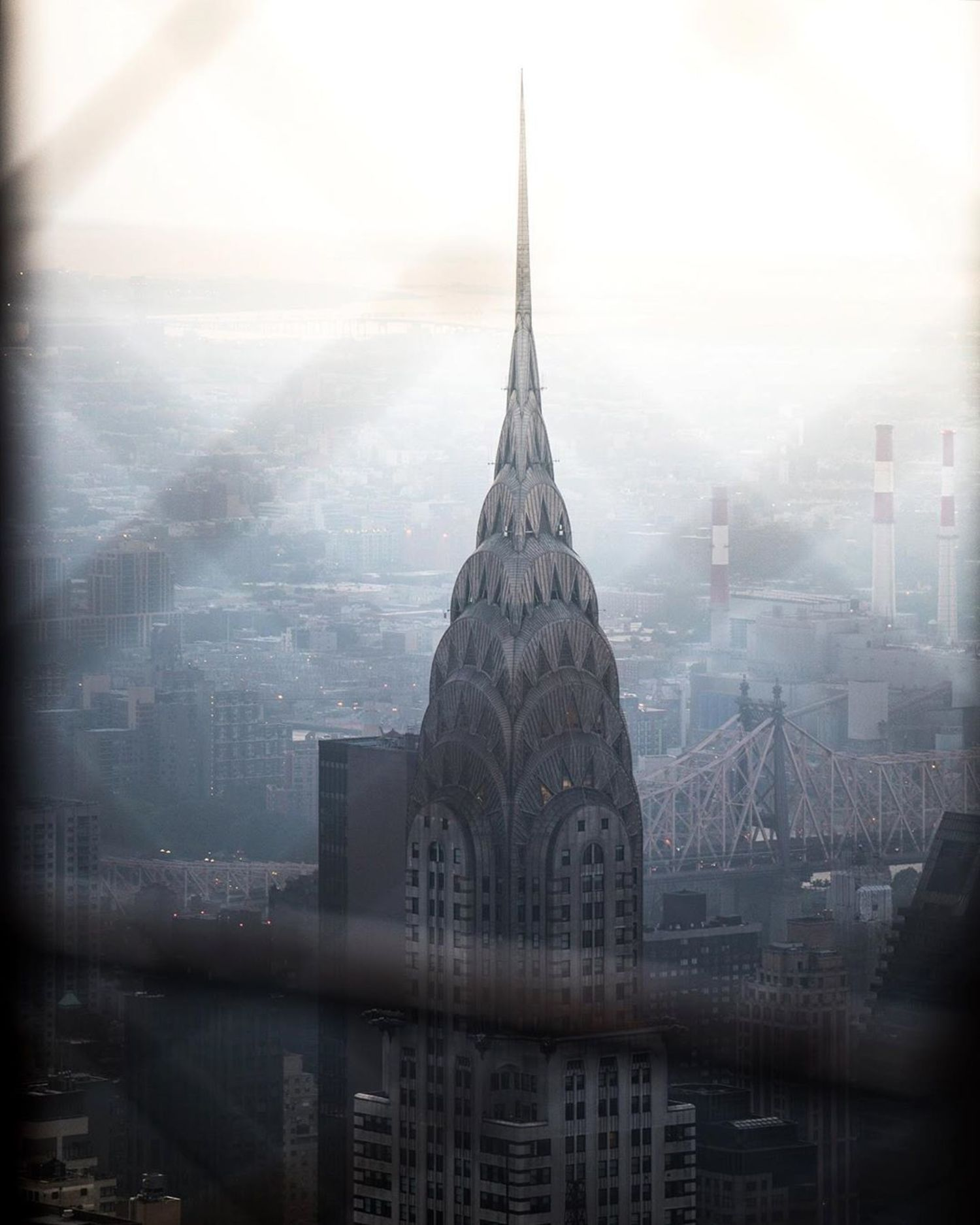Chrysler Building from Empire State Building Observation Deck