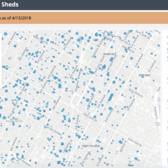 NYC Sidewalk Shed Map (screenshot)