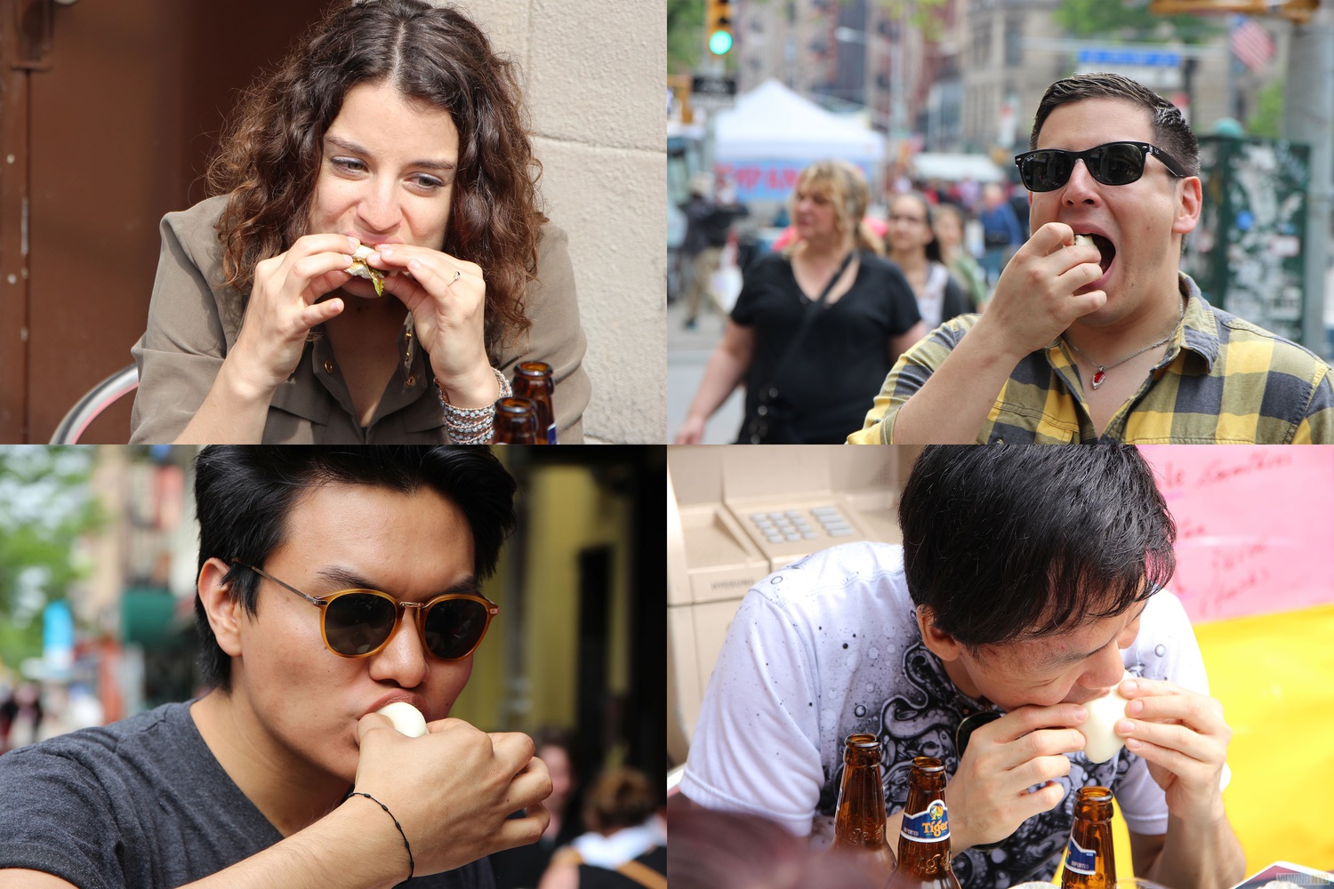 Crawlers Eating | 2016 Viewing NYC East Village Pork Bun Crawl