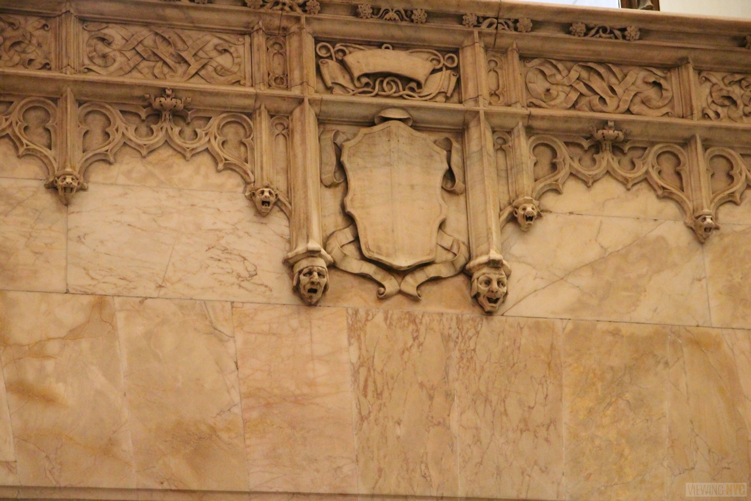 Woolworth Building Lobby and Basement Tour 29