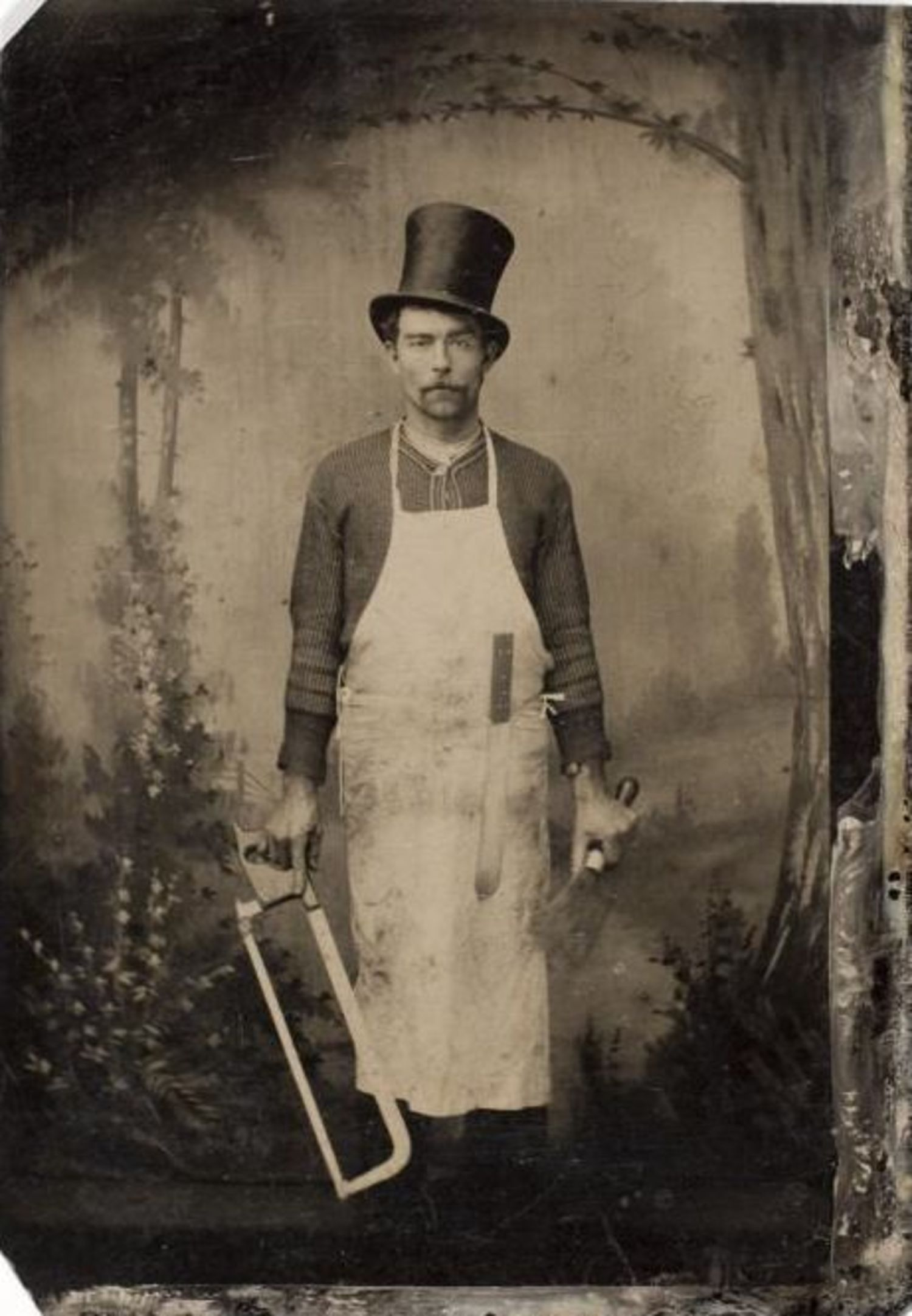 "William ""Bill the Butcher"" Poole, New York gangster, ca. 1855"
