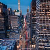 Park Avenue from Helmsley Building, Midtown, Manhattan