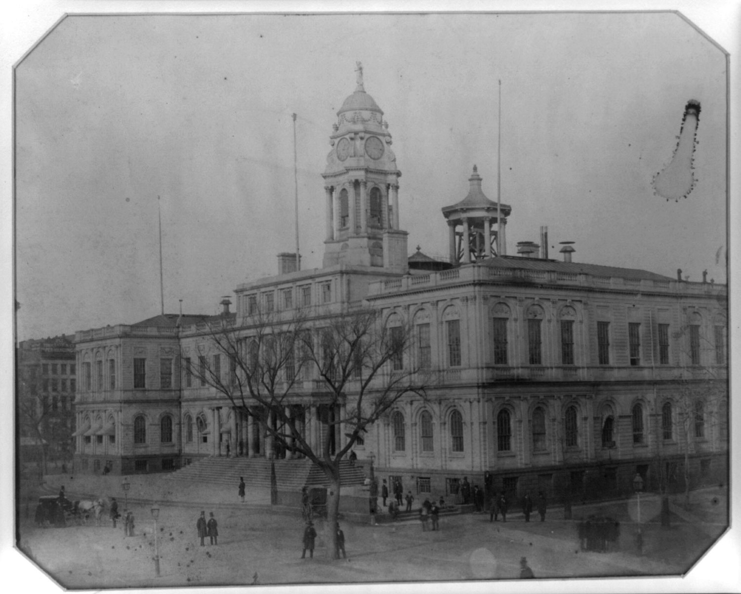 City hall, New York, 1855
