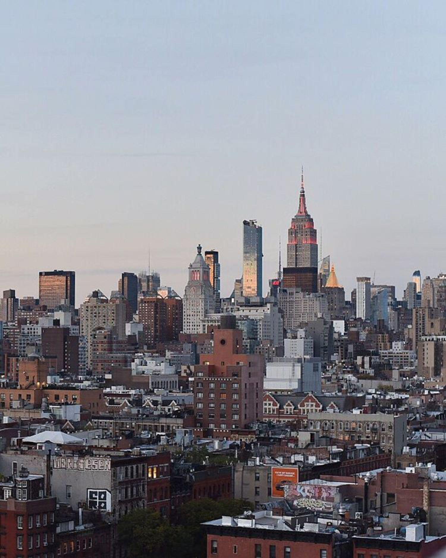 Crazy awesome city🙀  С первых секунд город поразил бешеной энергетикой, свои 27 встречаю тут💃🏻#nyc