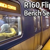 ⁴ᴷ R160 with Flip-Up Bench Seats in service on the J Line