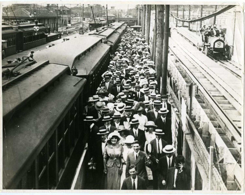 Culver Depot, 1912.