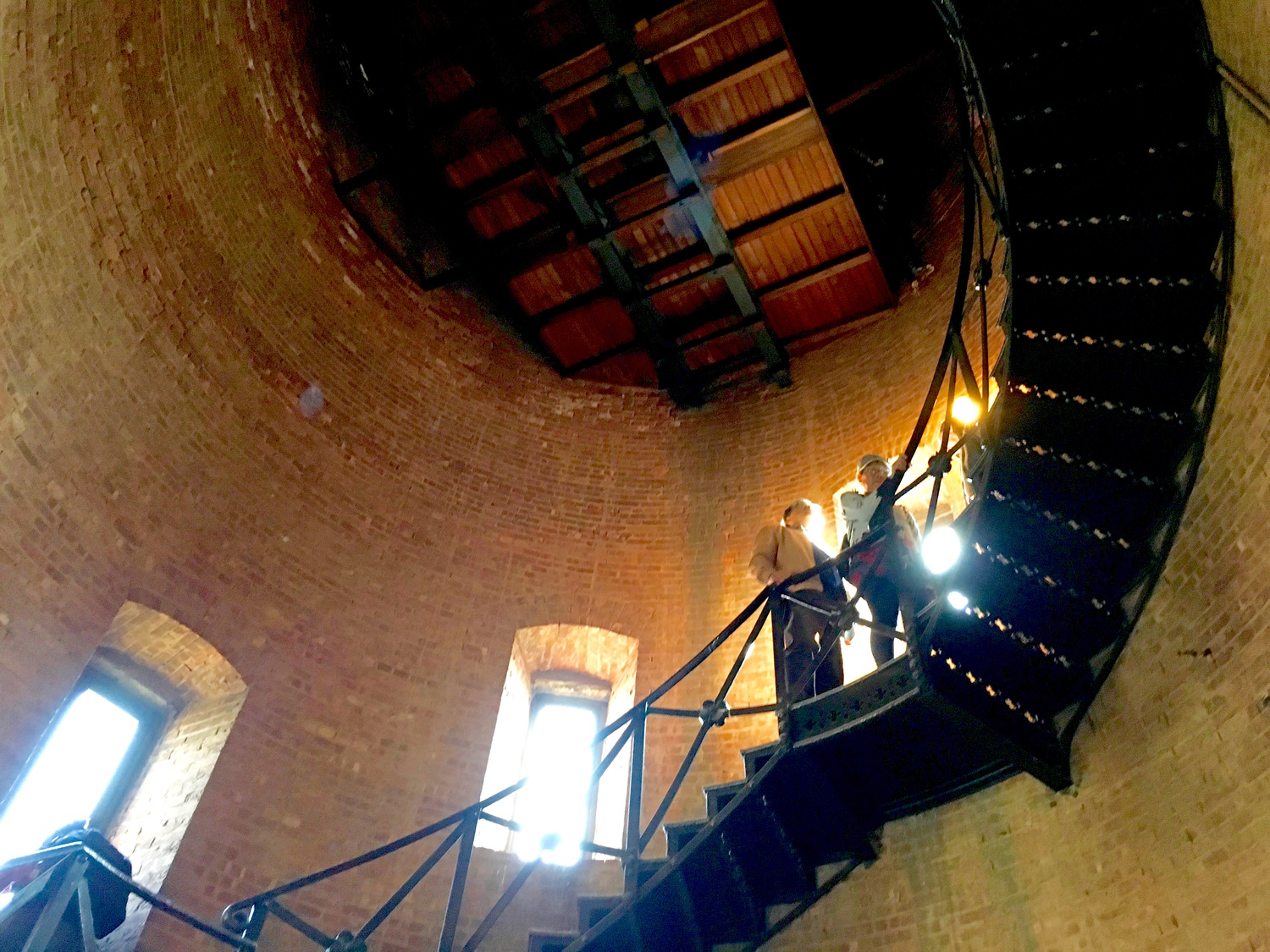 Tower Interior Stairs