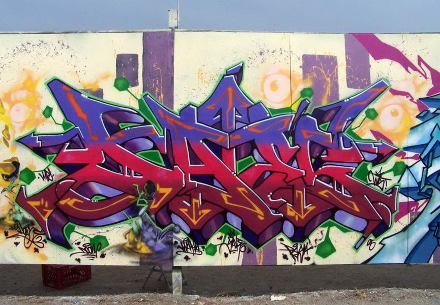 Daze - Important Member of the Renowned Group of NY Graffiti Artists
