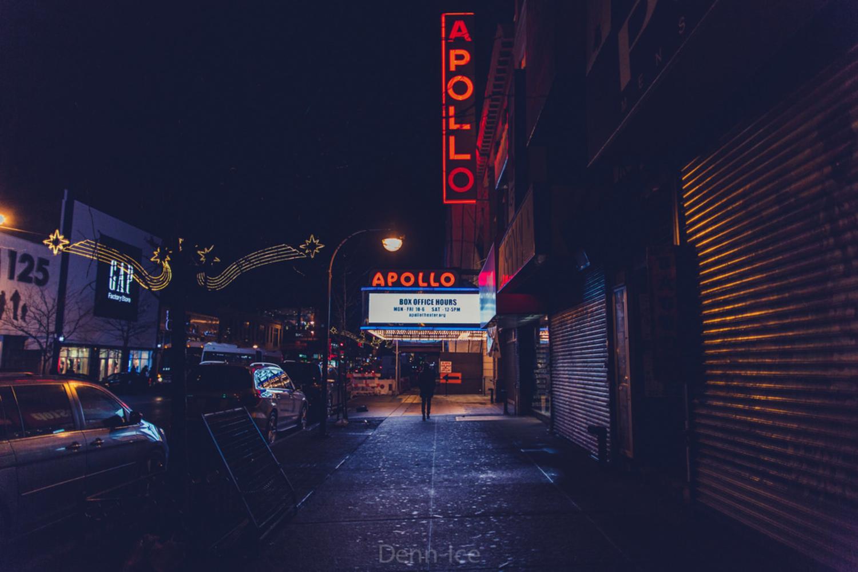 Apollo Theater, Harlem, New York