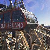 Roosevelt Island Tram, Roosevelt Island, Manhattan, New York. Photo via @tay.drury #viewingnyc #newyorkcity #newyork #nyc  #rooseveltisland