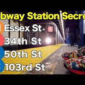 M 1 E C Subway Station Secrets!