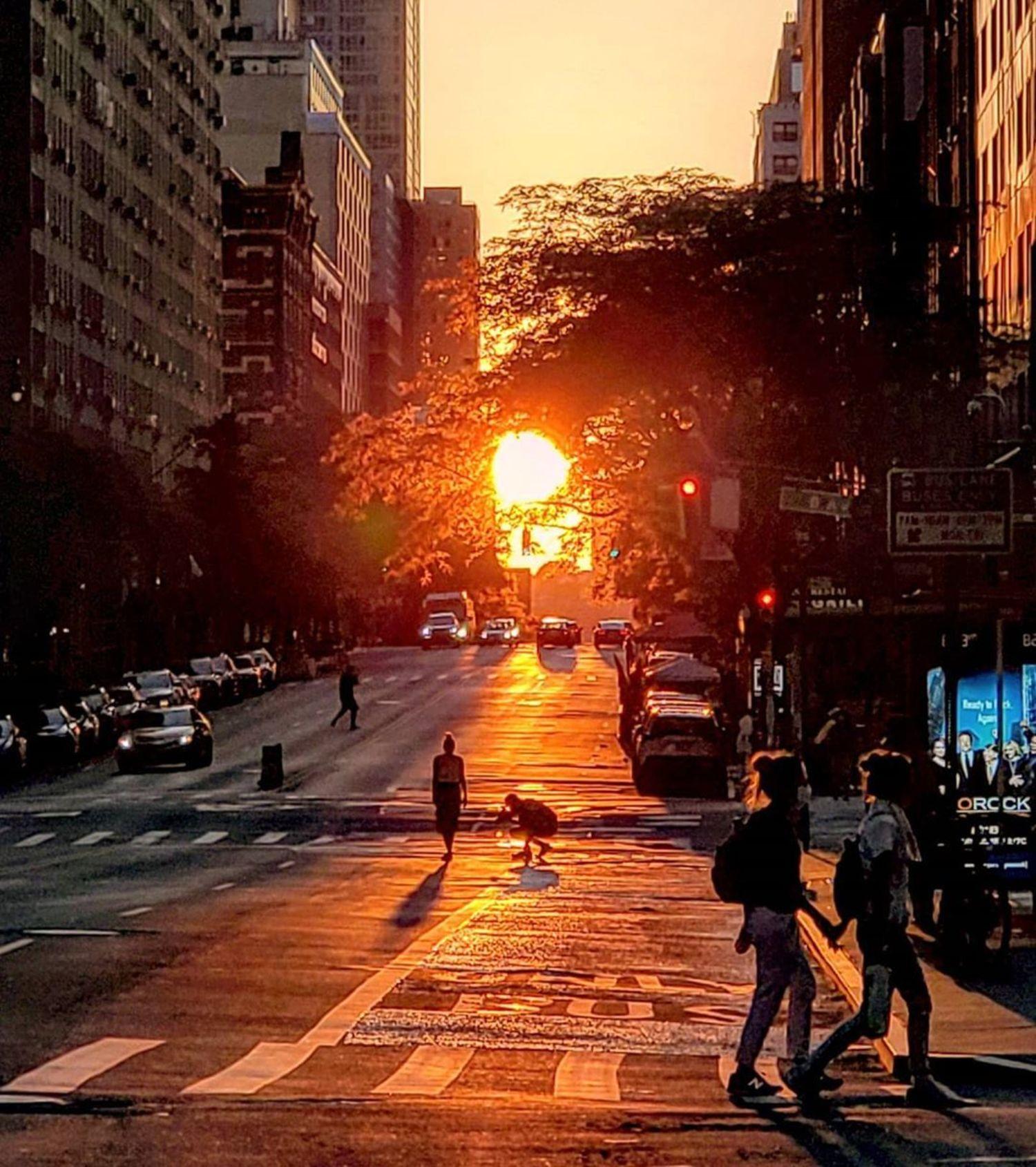 Manhattanhenge, Manhattan