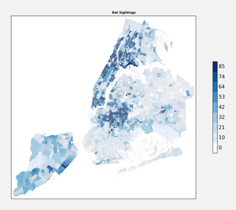 NYC Rat Sightings