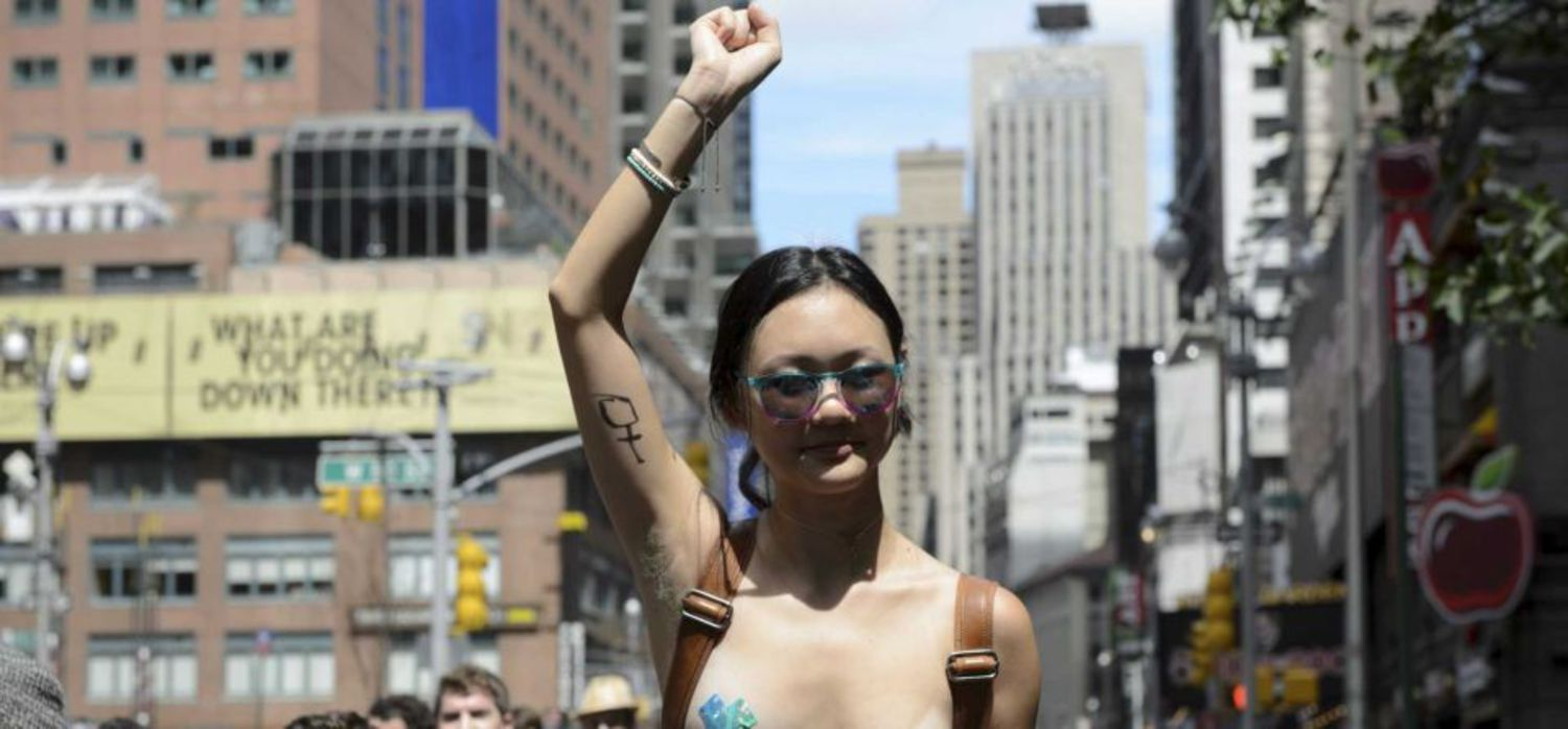 Go Topless Day NYC