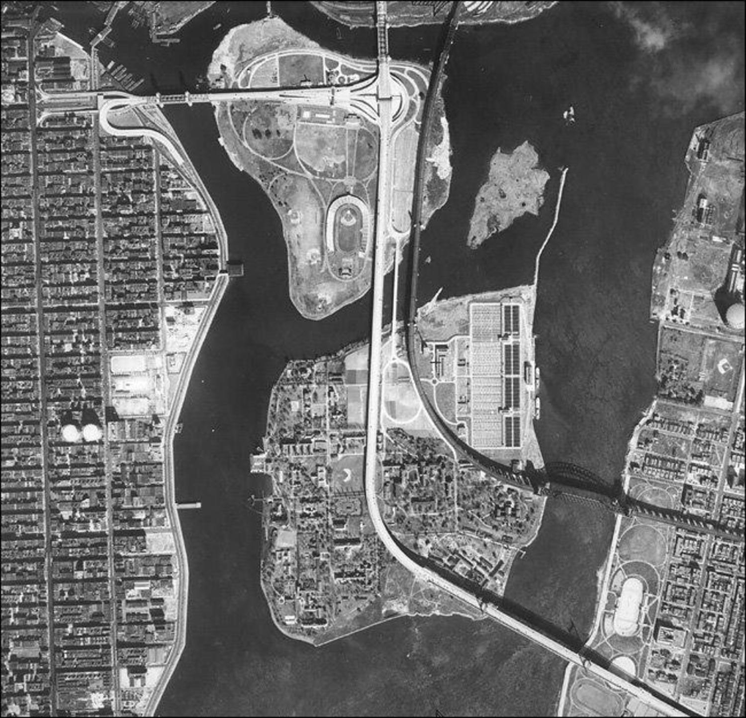 Randalls, Wards, and Sunken Meadow Island in 1948