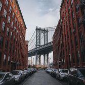 Manhattan Bridge, New York, New York. Photo via @ceos_downbeat #viewingnyc #newyorkcity #newyork #nyc #dumbo