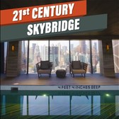 21st-century skybridge in NYC luxury building