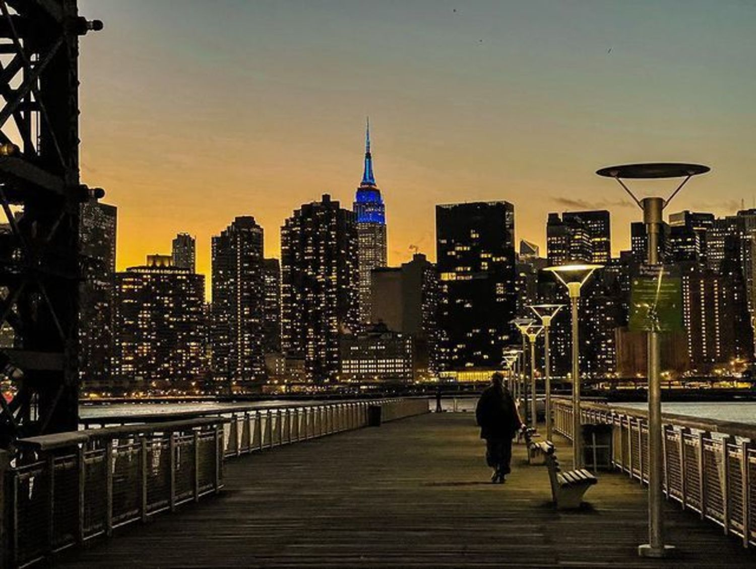 Midtown Manhattan Skyline from Long Island City, Queens