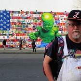 Ron English Brings His Vision to the Legendary Houston & Bowery Wall